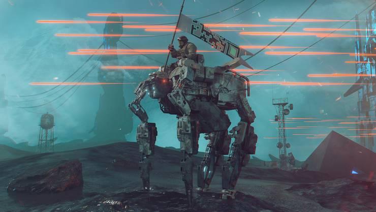 Sehen so die Krieger der Zukunft aus?