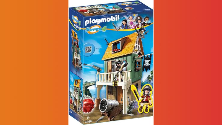 Wunsch-Nr. 30, Elena, 9 Jahre, PLAYMOBIL Getarnte Piratenfestung (4796), z.B. bei Digitec/Galaxus, CHF 39.40