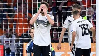 Deutschland kann heute aus der Nations League absteigen.