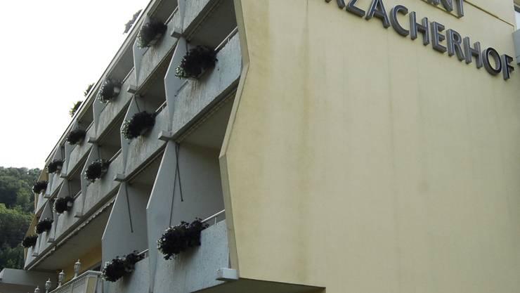 Seit Montag geschlossen: Das Hotel Zurzacherhof in Bad Zurzach.ZA