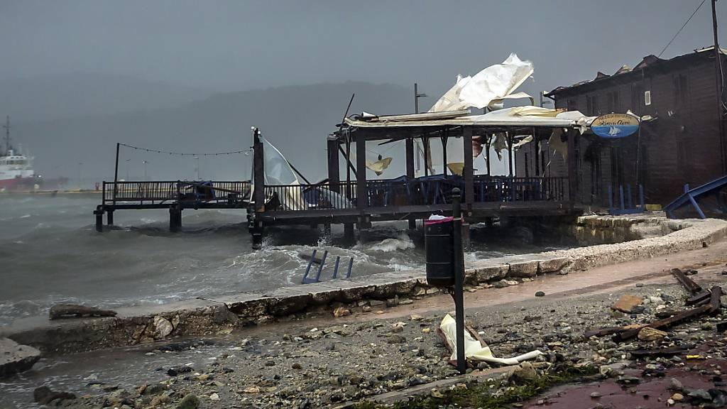 Wirbelsturm «Ianos»: Zwei Tote und schwere Schäden in Griechenland