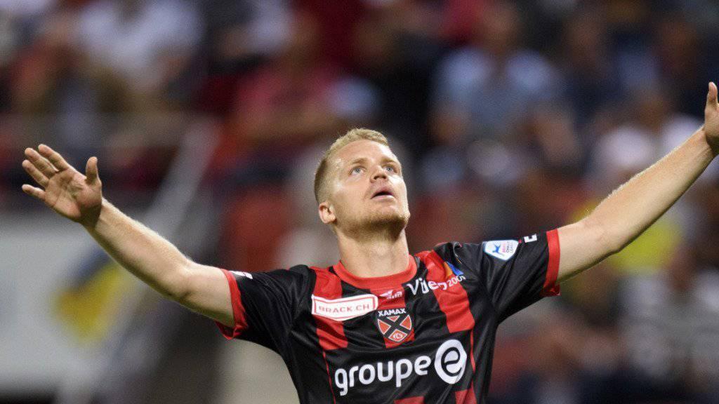 Gaetan Karlen erzielte das 2:0 von Xamax