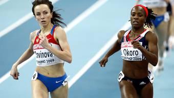 ussland ist ab sofort provisorisch aus dem Internationalen Leichtathletik-Verband (IAAF) ausgeschlossen worden. Dazu gehört auch Marija Sawinowa (links).