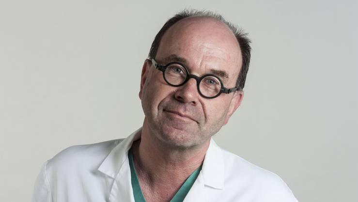 Clemens Schiestl, Leitender Arzt am Zentrum für brandverletzte Kinder der Plastischen und Rekonstruktiven Chirurgie des Kinderspitals Zürich