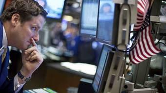 Börsenhändler in New York (Archiv)