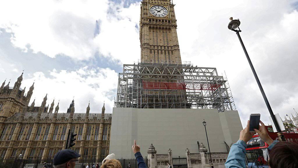 Big Ben schweigt bis 2021 wegen Renovation