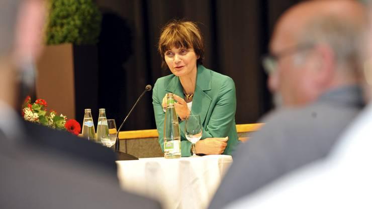 Micheline Calmy-Rey in Grenchen