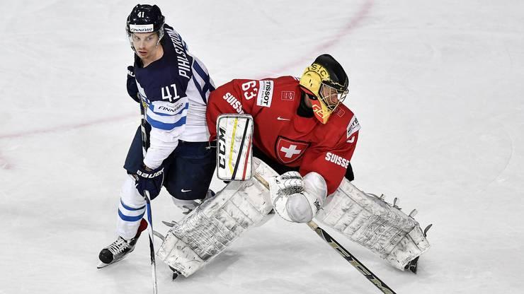 Genoni macht auch gegen Finnland eine gute Figur.