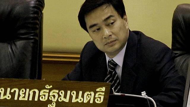 Ministerpräsident Abhisit Vejjajiva