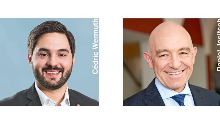 Cédric Wermuth und Daniel Jositsch