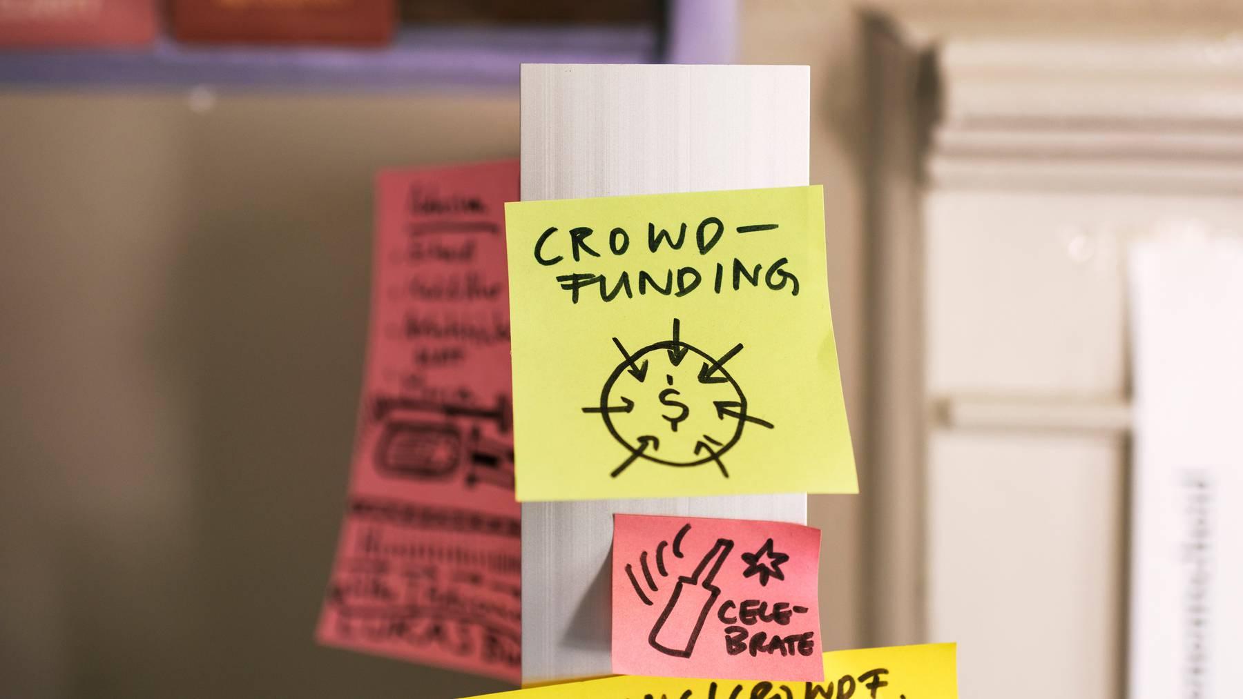 Crowdfunding ist in der Schweiz so populär wie nie zuvor.