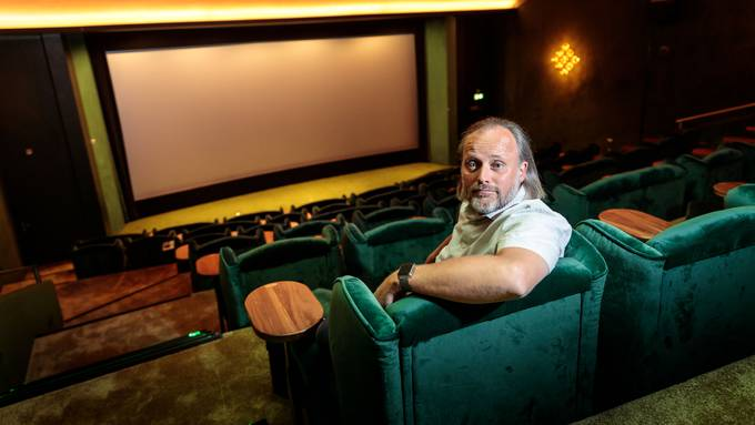 Konrad Schibli in Olten bietet den grossen Kinobetreibern die Stirn.