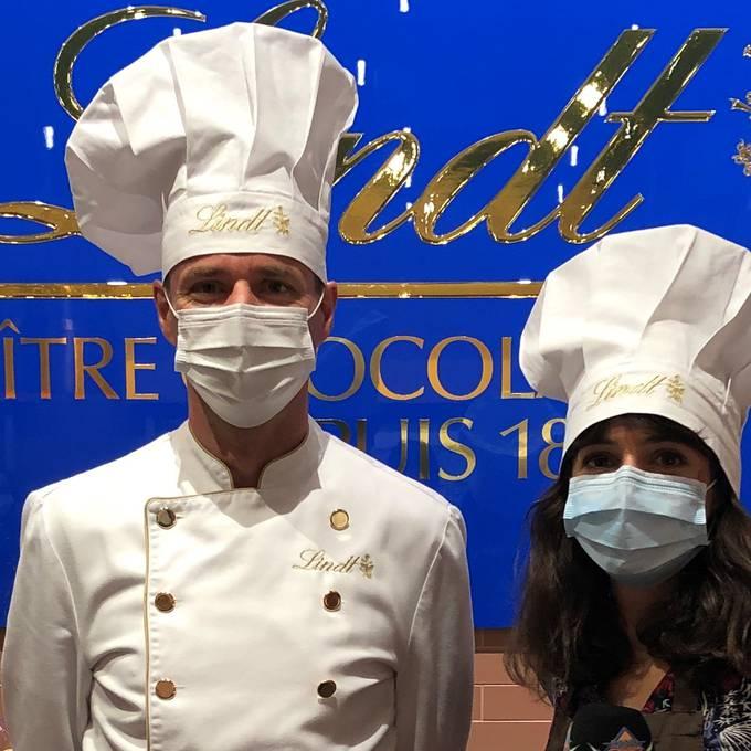 Céline wird Maître Chocolatier!