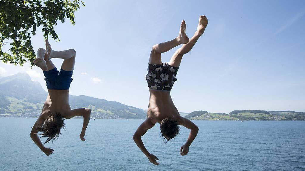 Der Sommer kommt zurück – und bleibt auch ein bisschen