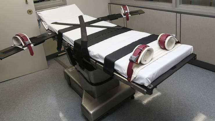 Wegen der Coronavirus-Krise ist eine Hinrichtung in den USA ausgesetzt worden. (Symbolbild)