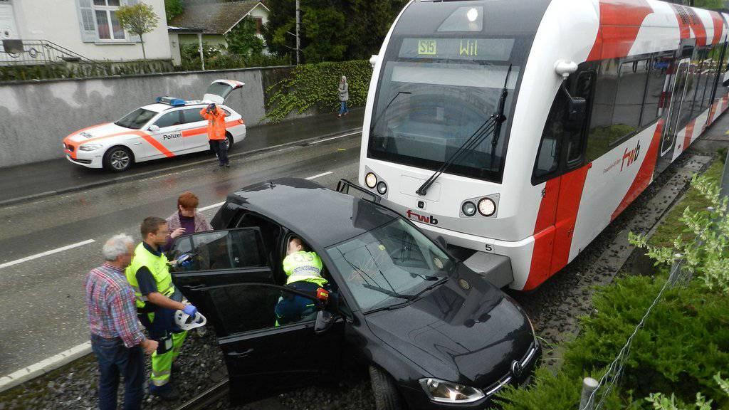 (Archivbild Kapo TG) Bereits letztes Jahr gab es in Matzingen einen ähnlichen Unfall.
