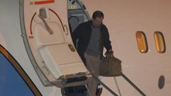 Jeffrey Fowle bei der Ankunft in Dayton, Ohio