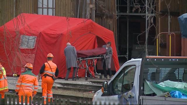 Tödlicher Arbeitsunfall am Bahnhof Wettingen