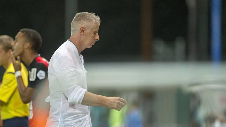 Livio Bordoli kann den FC Aarau nicht aus der Misere führen.