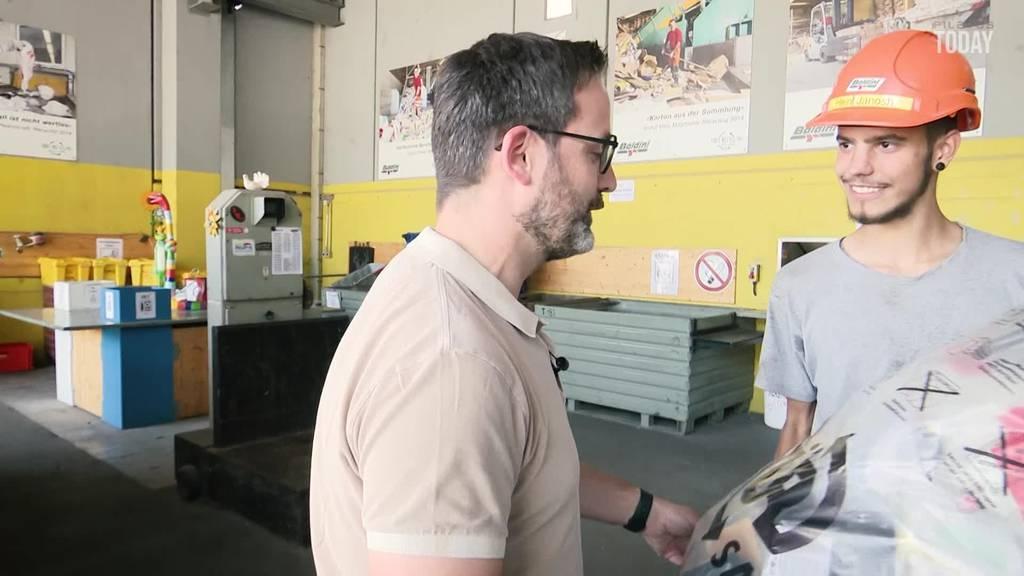 «Leute denken, der Job sei dreckig» – Urner Firma sucht Recyclisten
