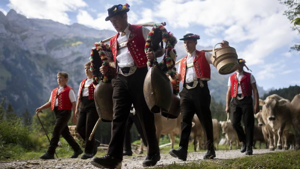 Schweizer Tradition: die Alpabzüge