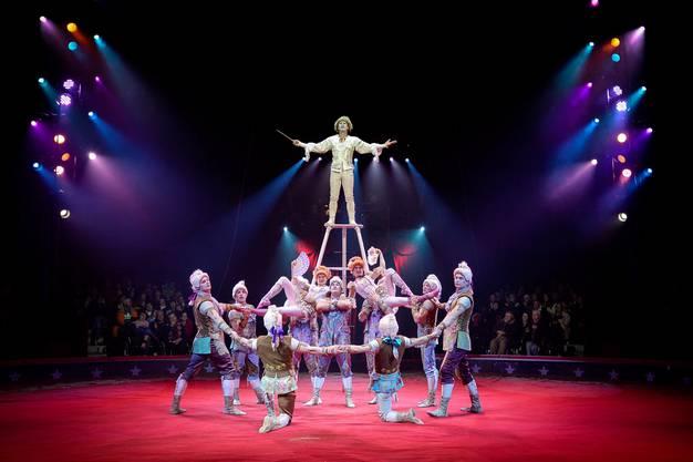 Zirkus Knie im Juni 2015 in Basel