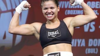 Viviane Obenauf ist WBA-Weltmeisterin im Superfedergewicht