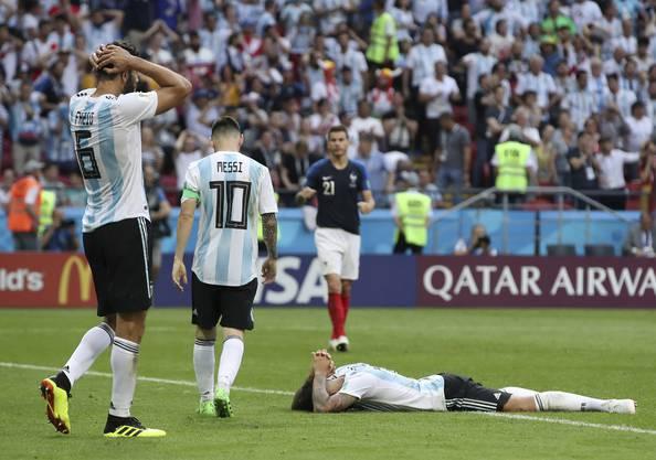 Die Argentinier sind bedient und verabschieden sich von der WM 2018.