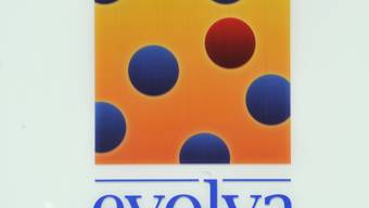Logo der Firma Evolva am Firmensitz in Reinach, Baselland. Das Unternehmen hat wegen höheren Kosten einen grösseren Verlust eingefahren.