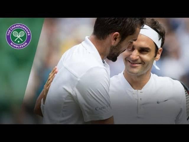 Roger Federer gegen Marin – die Highlights des Wimbledon-Finals 2017
