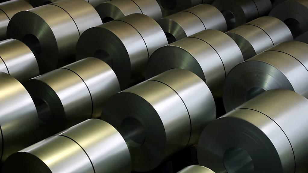 Wegen Billigimporten hat die EU Schutzzölle auf Stahl eingeführt. Die speziellen Kontingente für die Schweiz reichen entgegen den Befürchtungen bis jetzt aus. (Themenbild)