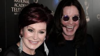 Sharon und Ozzy Osbourne am Sonntag bei den Daytime Emmys (Archiv)