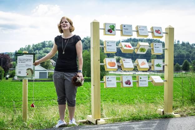 Eröffnung des Buurelandweg Aargau in Lenzburg