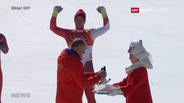 Beat Feuz holt sich Olympia-Medaille