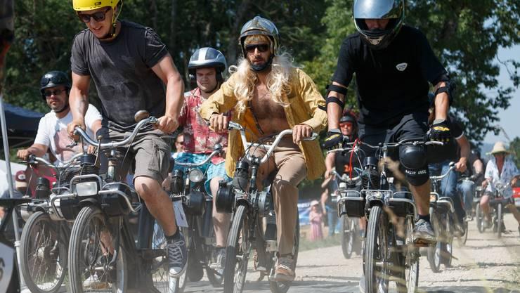 10. Solexrennen auf dem Tessenberg