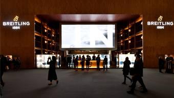 Die gute Lage des imposanten Standes der diesjährigen Ausgabe hat Breitling nicht in Basel gehalten.Archivfoto Oliver Menge