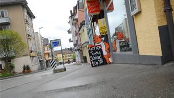 Vor der Guex-Metzgerei fehlen Parkplätze und damit auch Kunden. fup