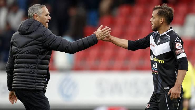Unter Pierluigi Tami war Mariani in Lugano unumstrittener Stammspieler. Heute ist der Ex-Trainer Direktor der Schweizer Nationalteams.