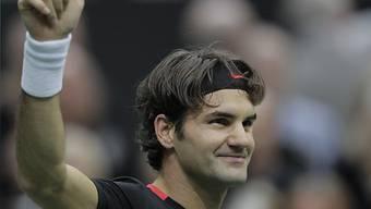Roger Federer machte mit Llodra kurzen Prozess.