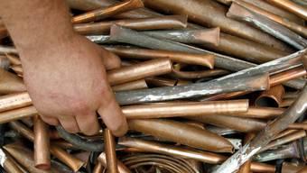 Kupfer ist aufgrund seines Materialwerts ein beliebtes Diebesgut. (Symbolbild)