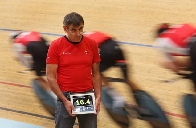 Erinnert sich gerne an Supertalent Marc Hirschi: Bahn-Nationaltrainer Daniel Gisiger.