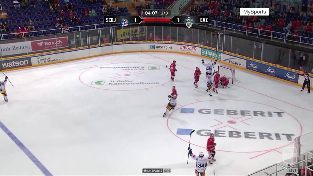 EVZ startet mit Sieg in die neue Saison
