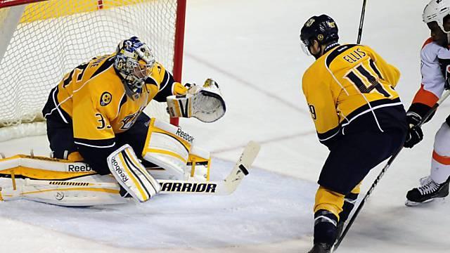 Sicherer Rückhalt der Nashville Predators: Goalie Pekka Rinne