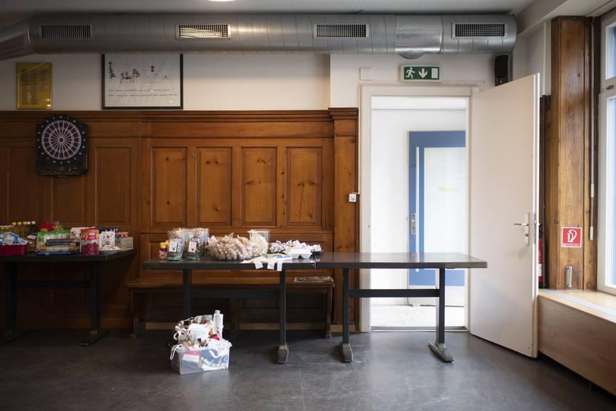 Mitnehmen statt miteinander: In der Gassenküche St.Gallen bot schon im Lockdown im Frühling Take-Away an.