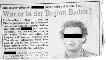 «Badener Tagblatt», 19.6.80
