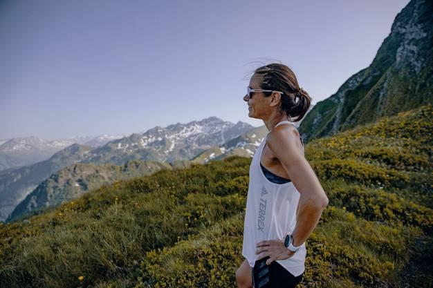 Die Berge sind ihr Zuhause: Jasmin Nunige.