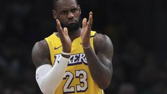 Applaus, Applaus: LeBron James ist demnächst die Nummer 3 in der ewigen Skorerliste der NBA