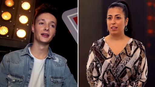 Zwei Ostschweizer wollen bei «The Voice» gewinnen