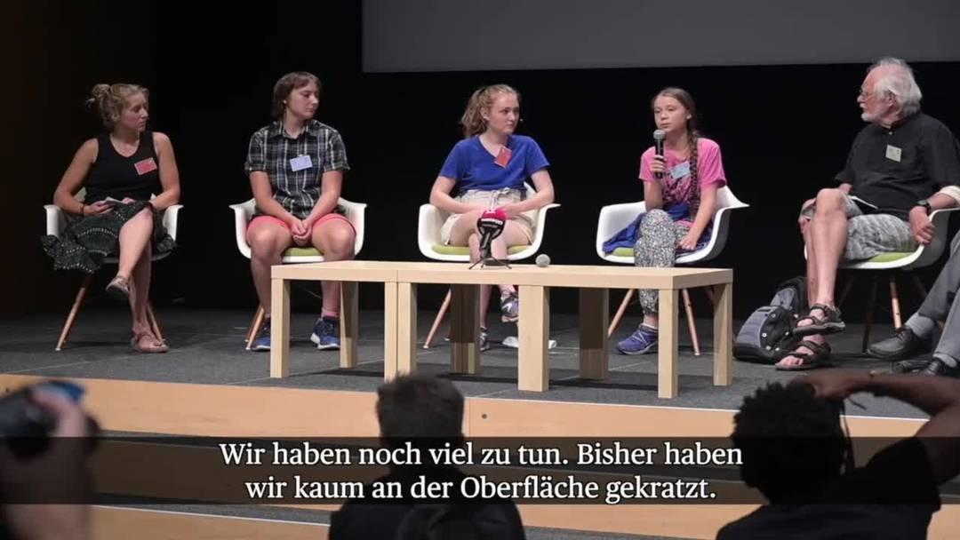 Greta Thunberg in Lausanne: «Wir kratzen noch immer an der Oberfläche»