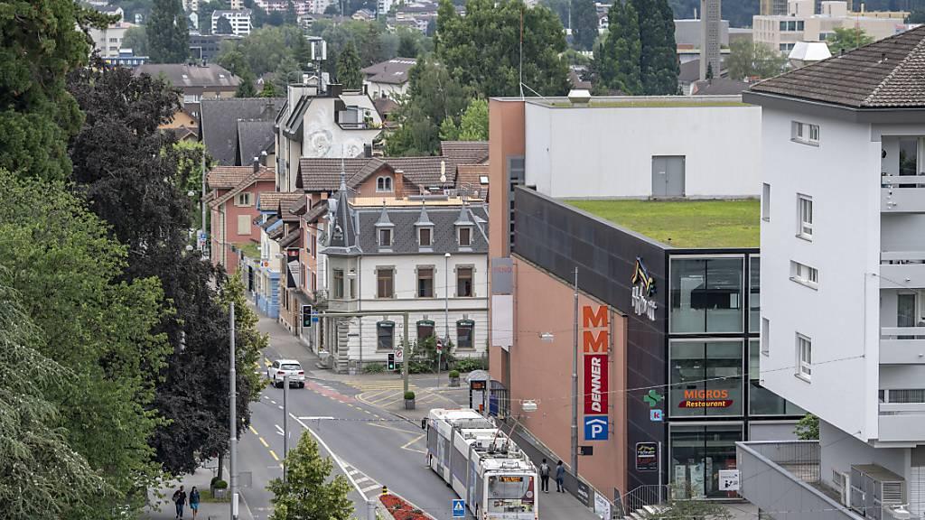 Eine Volksinitiative zum Verkehrsregime im Krienser Stadtzentrum wurde zurückgezogen. (Archivbild)